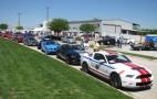 Mustangs Across America Rolls Through Lewisville, Texas
