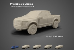 Ford Printable 3D Models