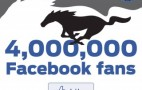 Ford Corrals Four Million Mustang Fans On Facebook