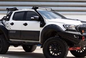 Dealer-customized Ford Ranger - Image via Motoring