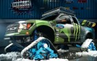 Ken Block's Trax-Wearing Ford Raptor Is Awesome: Video