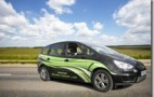 Langford Engineering Testing C30 Turbine Powered EREV Ford S-Max Crossover