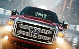 2013 Ford Super Duty Platinum: Preview