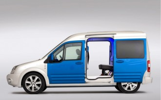 Ford Transit Connect Family One Concept At NYC Show