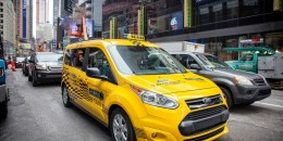 Ford Transit Connect Hybrid taxi prototype to appear in Detroit