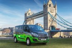 Ford to test plug-in hybrid Transit Custom van in London