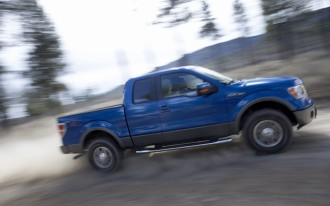 The Interior of the 2009 Ford F-150 Makes a Bold Design Statement