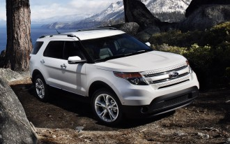 2011 Ford Explorer: Inflatable Rear Seat Belts Are Here