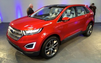 2015 Ford Edge Concept Preview Video