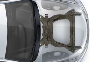 Magna International carbon fiber subframe for Ford