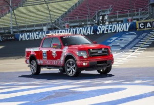 Ford's F-150 FX4 NASCAR pace truck