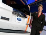 Ford's Nancy Gioia at 2008 Detroit Auto Show