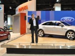 Ford's Octavio Navarro talks about the new Fusion Hybrid and Taurus