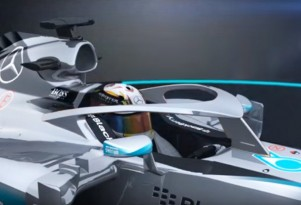 Formula One Halo cockpit protection concept