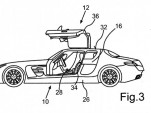 Four-door SLS AMG patent images 