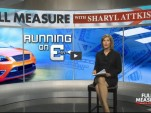 Frame from 'Running on E,' Full Measure segment on electric cars, Dec 2015