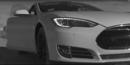 Tesla fan commercial: electric car rescue from post-apocalyptic landscape