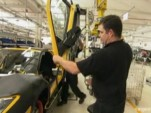 From National Geographic's ULTIMATE FACTORIES tour of the Lamborghini facility
