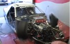Front-Wheel Drive Drag Car Blows Tire, Self-Destructs On Dyno