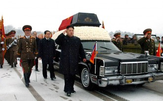 Kim Jong-Il Takes One Last Drive -- In A Lincoln Continental