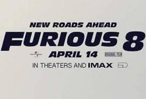 """""""Furious 8"""" poster"""