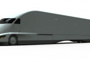 FutureTruck big rig concept. Image: Jeremy Singley