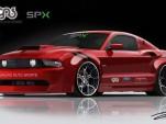 Galpin Auto Sports/SPX custom Mustang rendering