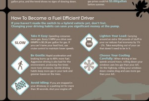 Gas Prices Rising: Driving Tips, Simple Repairs Boost Mileage (Infographic)