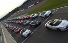 Close To 1,000 Ferraris Smash World Record At Silverstone: Video