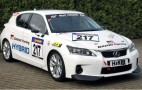 Lexus CT 200h Makes Race Debut At The Nurburgring