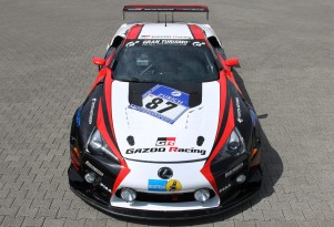 Gazoo Racing Lexus LFA race car