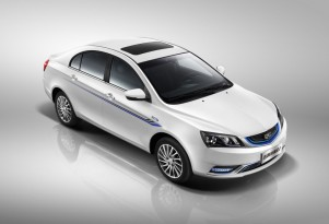 Geely Emgrand EV, Chinese electric car, driven by British reviewer