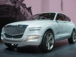 Genesis GV80 fuel-cell concept SUV at NY auto show