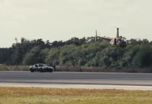 All-electric Corvette sets EV top speed record (video)