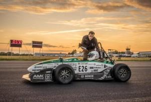 German Student World Record Electric Car