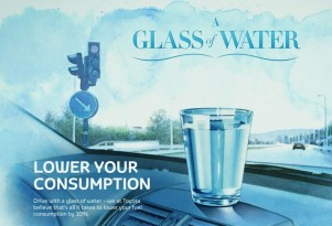 With A Glass Of Water, Save Ten Percent On Your Fuel Budget