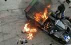 Glickenhaus Ferrari P4/5 Competizione Catches Fire At The 'Ring