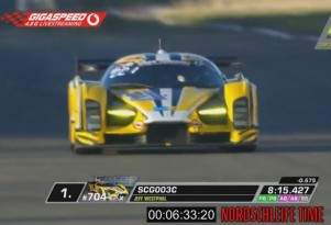 Glickenhaus SCG003C at the 2017 24 Hours of Nürburgring