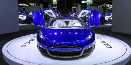 GLM G4, 2016 Paris auto show