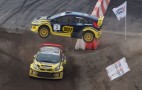 WRC Champ Gronholm Takes Victory At First Global RallyCross Event: Video