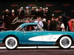 GM CEO Dan Akerson's 1958 Chevrolet Corvette at auction