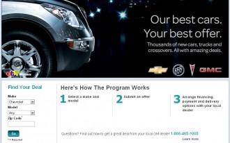 GM Extends eBay Sales Program To September 30