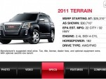GMC Showroom Mobile App for iPhone