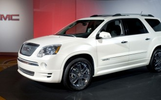 Report: GMC Acadia May Be Axed