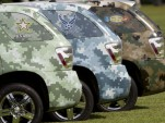 Hydrogen Fuel Cell Cars Don Camouflage, Join Army