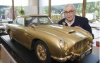 Gold-Plated Aston Martin DB5 Model Set For Charity Auction