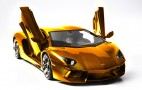 German Artist Creates Gold Lamborghini Aventador LP 700-4 Model Valued At $4.7 Million