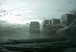 Golf-ball sized hail rained down on Colorado