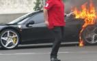 Gone In 60 Seconds: Ferrari 458 Italia Burns In Paris