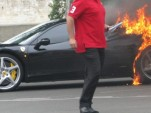 Gone In 60 Seconds: Ferrari 458 Italia Burns In Paris -- via Autogespot